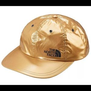 The North Face Accessories - Supreme The North Face Gold Metallic 6-Panel Hat